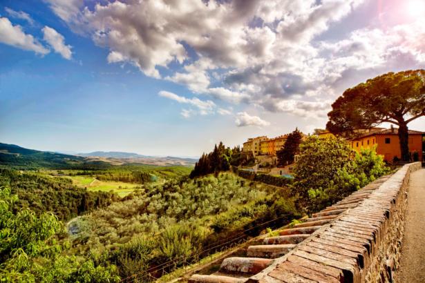 Castelfalfi-Toskana