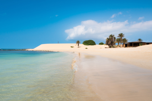 Chaves beach Praia de Chaves in Boavista Cape Verde - Cabo Verd