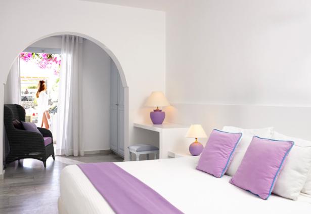 Santorini Kastelli Resort Zimmer