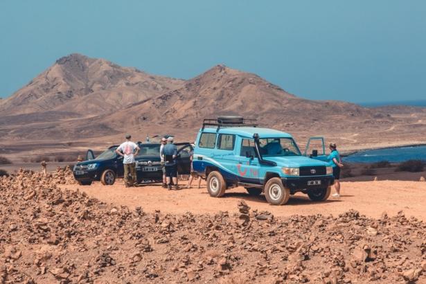 Kapverden Nelly Lucky Hill Jeep