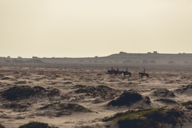 Kapverden Nelly Reiten durch die Wüste