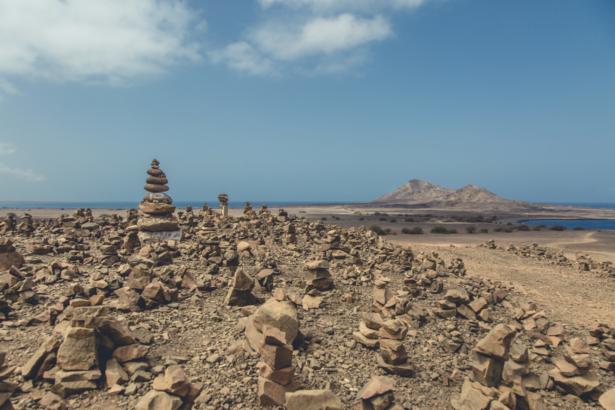 TUI Kapverden Steinskulpturen