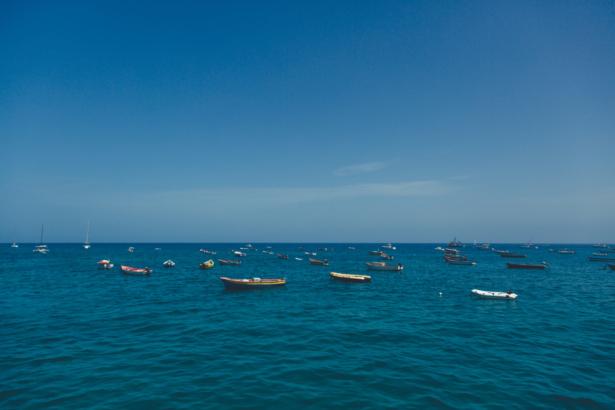 TUI Kapverden Meer mit Booten