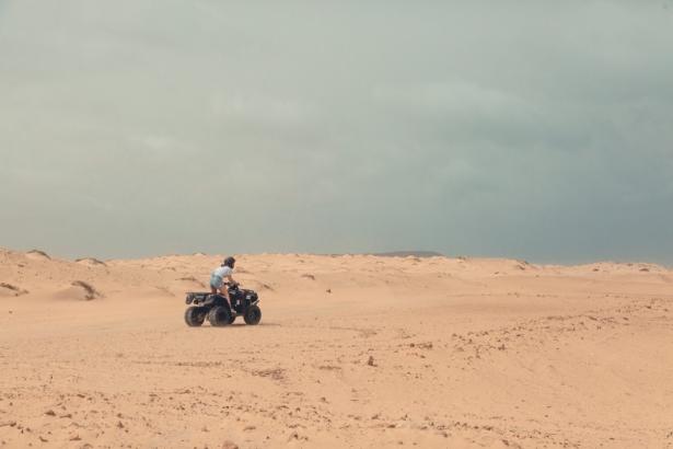 TUI Kapverden Quad in der Wüste
