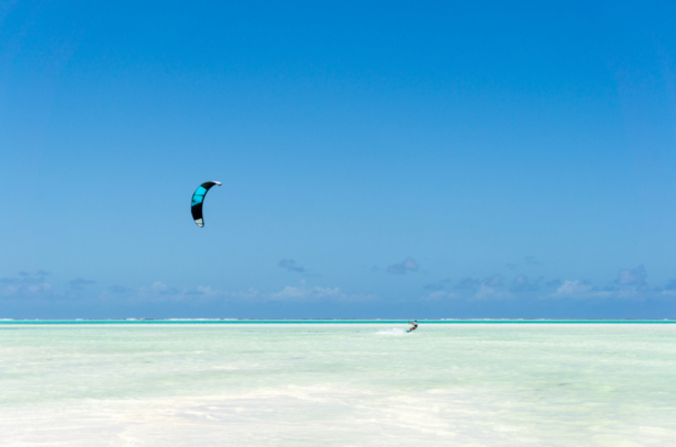 TUI Sansibar Kitesurfen