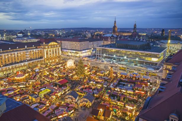 Striezelmarkt Dresden - Top 6 Weihnachtsmärkte