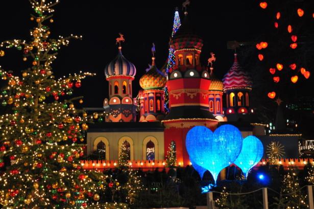 Tivoli Kopenhagen - Top 6 Weihnachtsmärkte