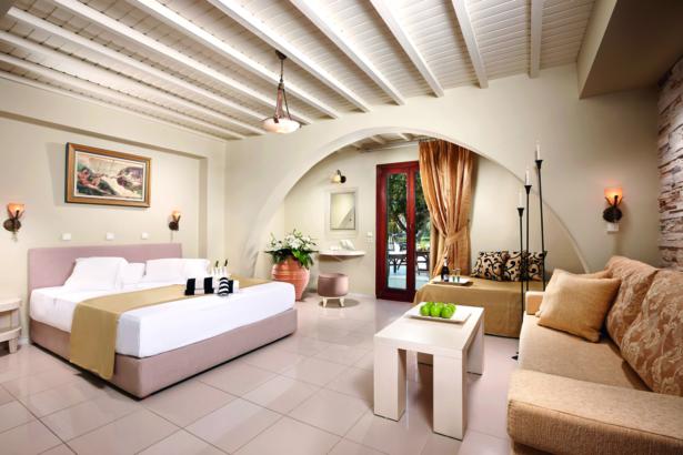 Naxos Hotel Galaxy Pool Zimmer
