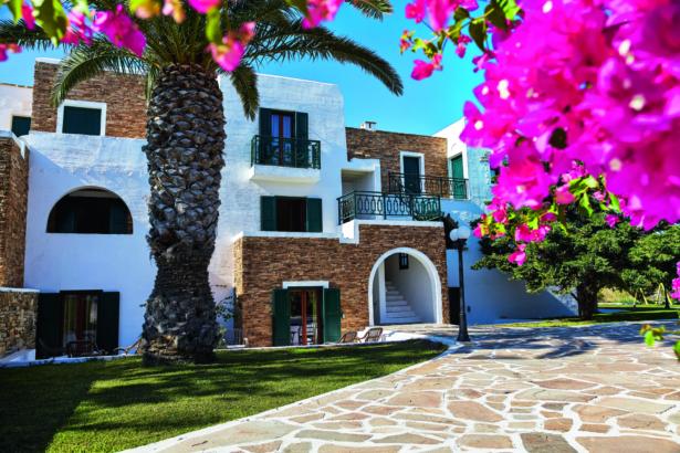 Naxos Hotel Galaxy Außenansicht
