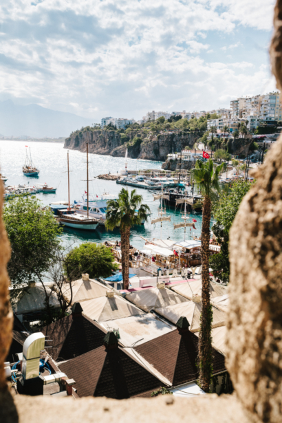 TUI Hafen von Antalya