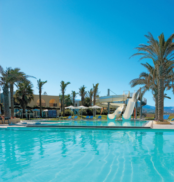 best FAMILY Grecotel Royal Park Pool mit Wasserrutsche