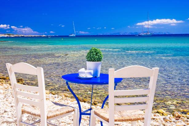 Kykladen Inselhüpfen Griechenland - Paros Meer