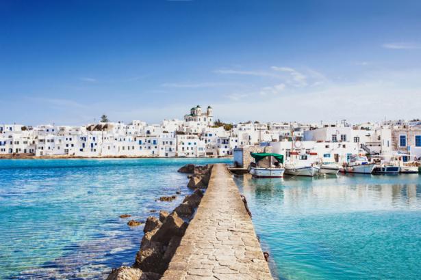 Kykladen Inselhüpfen Griechenland - Paros Stadt