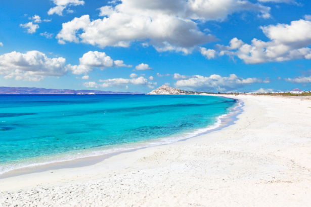 Kykladen Inselhüpfen Griechenland - Naxos Strand
