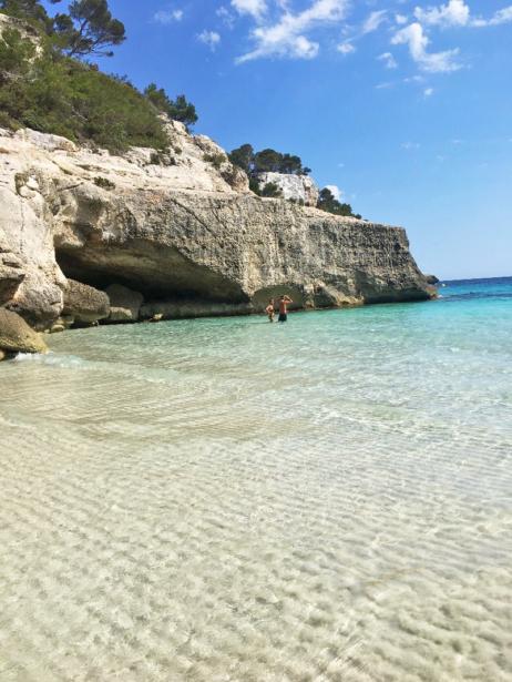 Valentinas Top 3 Strände - Cala Mitjana auf Menorca