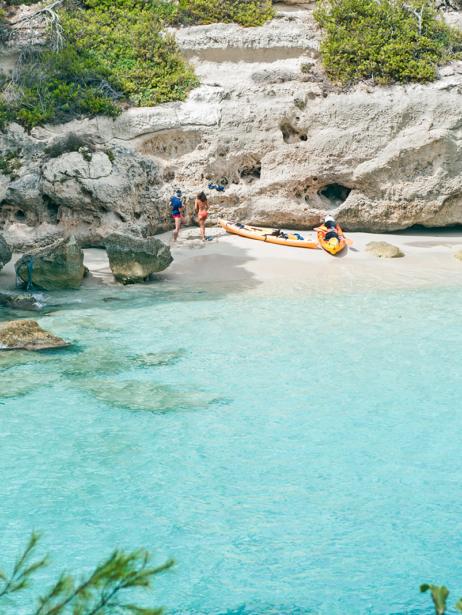 Cala Mitjana auf Menorca