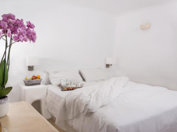 Kykladen Hoteltipp Iliovasilema Santorin - Zimmer