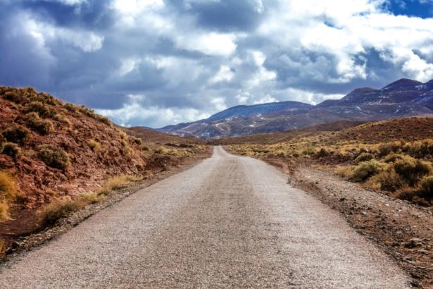 48 Stunden in Marrakesch - Route Atlasgebirge