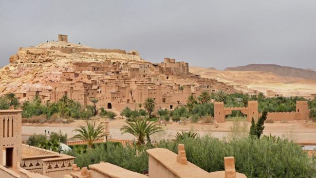 48 Stunden in Marrakesch - Aussicht am Weg nach Ait-Ben-Haddou