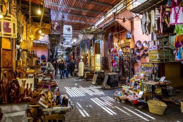 48 Stunden in Marrakesch - Souk Marrakesch