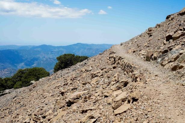 Troodos Gebirge Weg