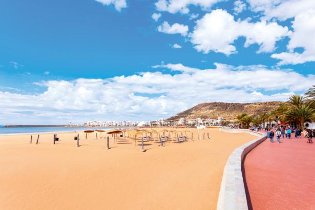 Winter im Warmen - Marokko Strand Agadir