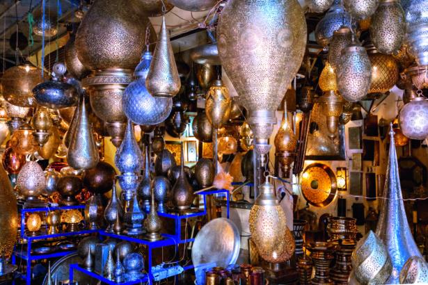 48 Stunden in Marrakesch - Lampen Marrakesch