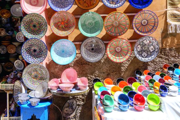 48 Stunden in Marrakesch - Schalen Marrakesch