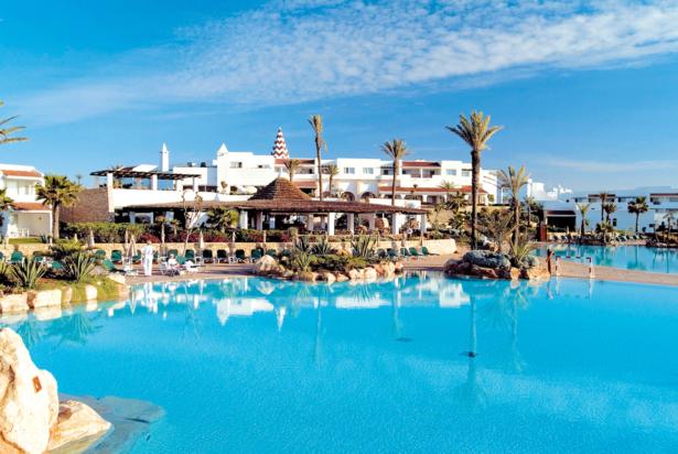 Marokko RIU Tikida Dunas Pool