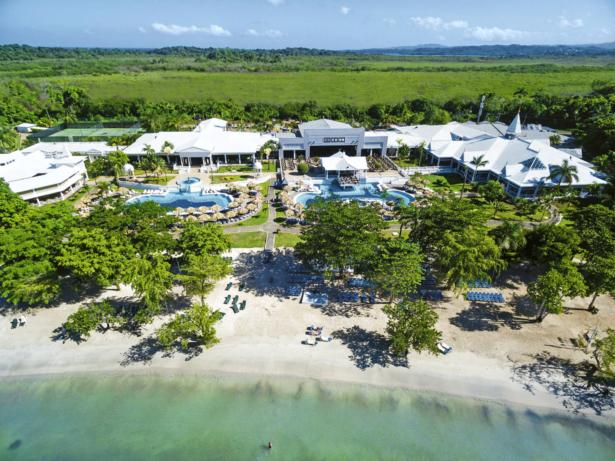 RIU Negril Außenansicht auf Jamaika