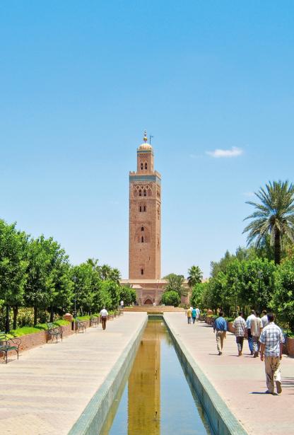 48 Stunden in Marrakesch - Koutoubia Mosque
