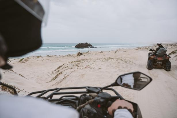 Quad-Ausflug auf Boa Vista