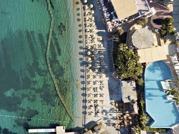 TUI MAGIC LIFE Bodrum Ansicht von oben - Top 10 Rutschenhotels