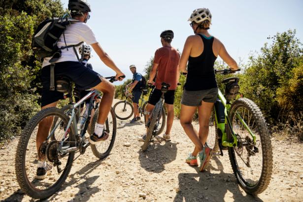 Mountainbike Griechenland
