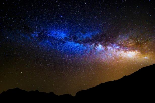 Nachthimmel kanarische Inseln Teneriffa Gran Canaria Fuerteventura
