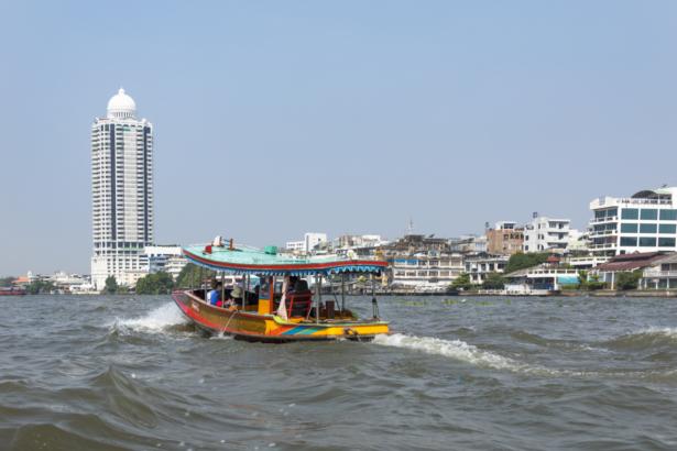 Bangkok Longtail Boot Khlongs