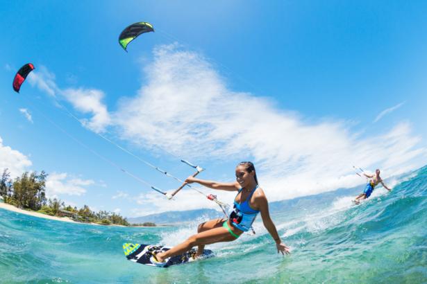 Windsurfing Wassersport Kanaren