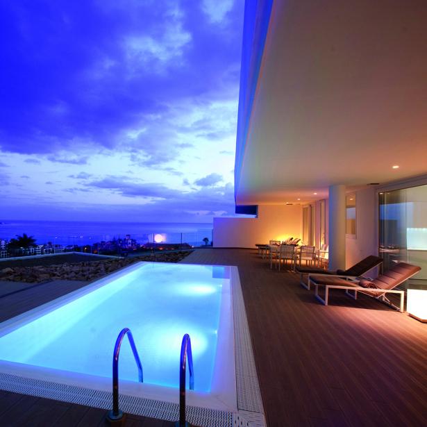 Hotel mit eigenem Pool